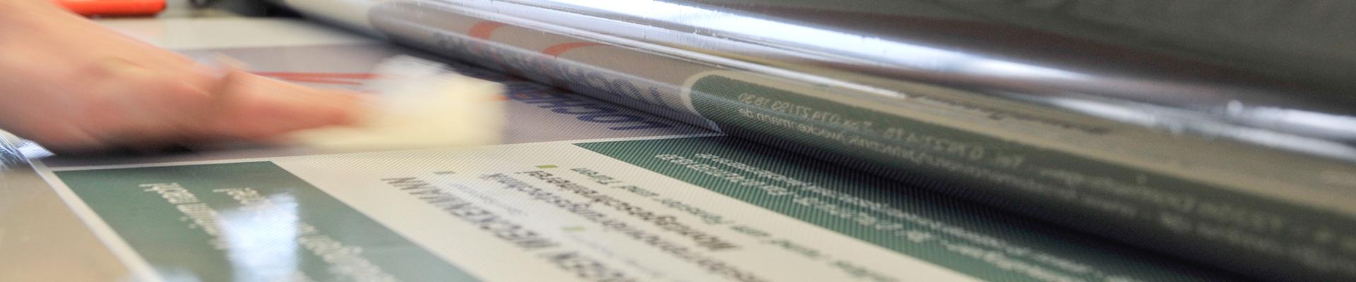 Werbetechnik mit Digitaldruck