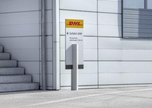 Wegeleitsystem der DHL